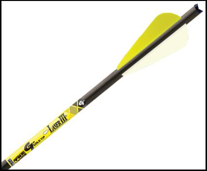gold tip laser III crossbow bolt