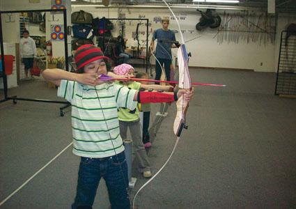 archery league shoot