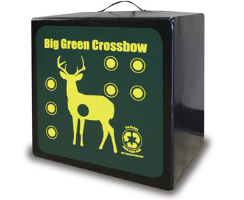 big green crossbow targets