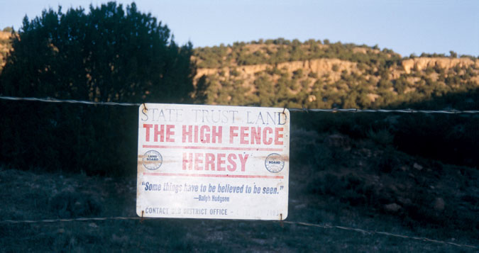high fence hunting