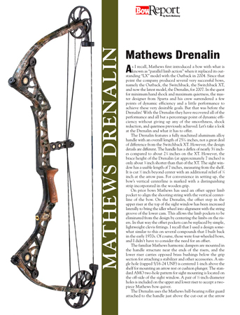 Mathews Drenalin Bow Report