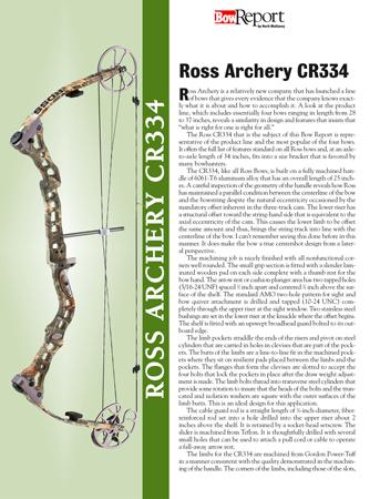 Ross Archery CR334