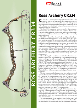 Ross Archery CR334