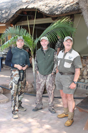 Africa bow hunting