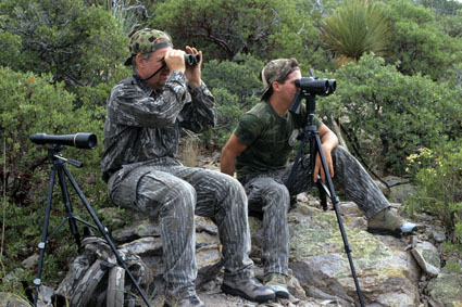 western binocular hunting