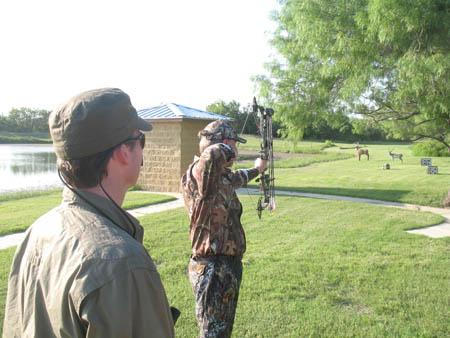 perfect archery practice