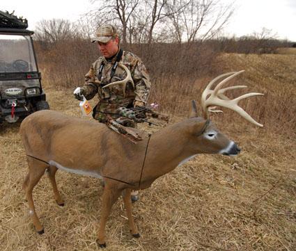 deer decoy hunting