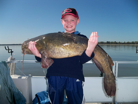 flathead catfish world record