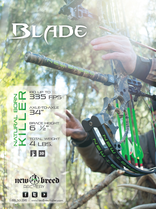 New Breed Archery's BLADE