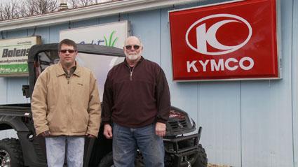 kymco winner