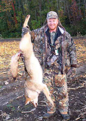 fall coyote hunting