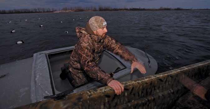 duck diver hunting
