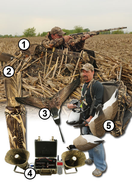 goose hunting gear