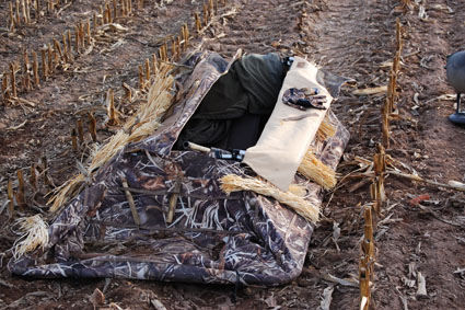 duck hunting layout blind