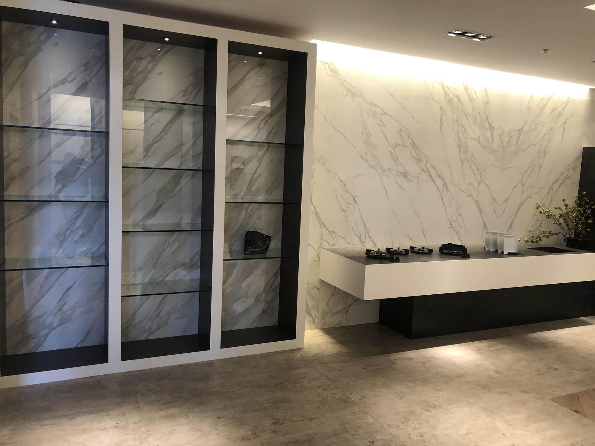granite marble quartz and porcelain