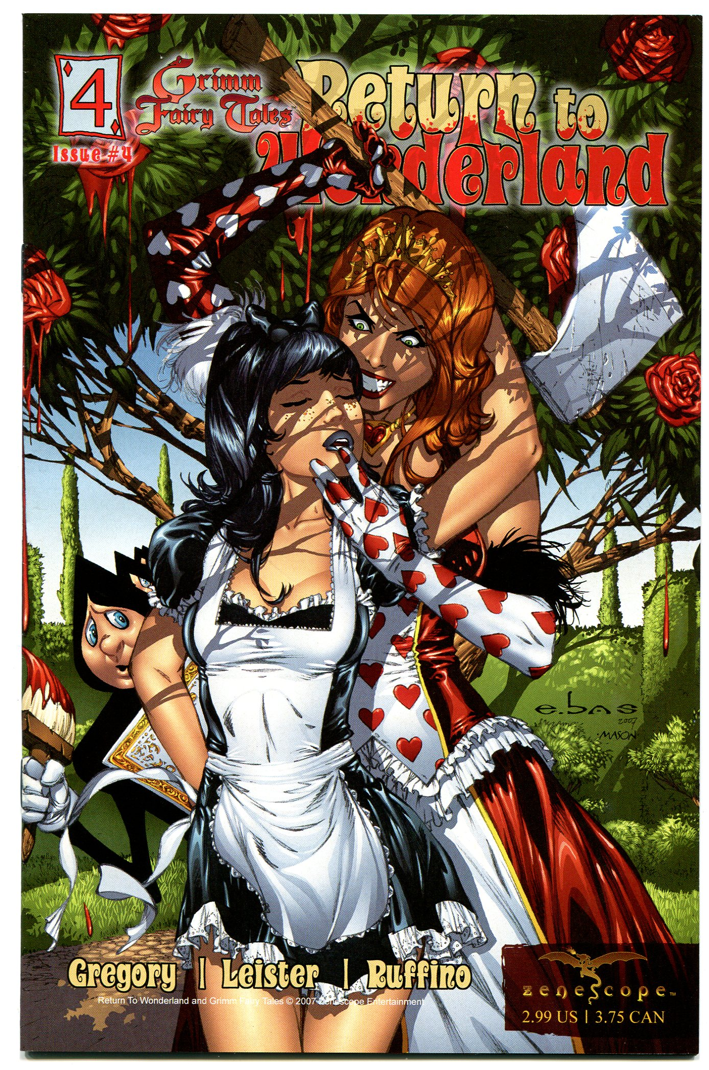 Grimm Fairy Tales Return Wonderland 4 Retailer 1 In 5