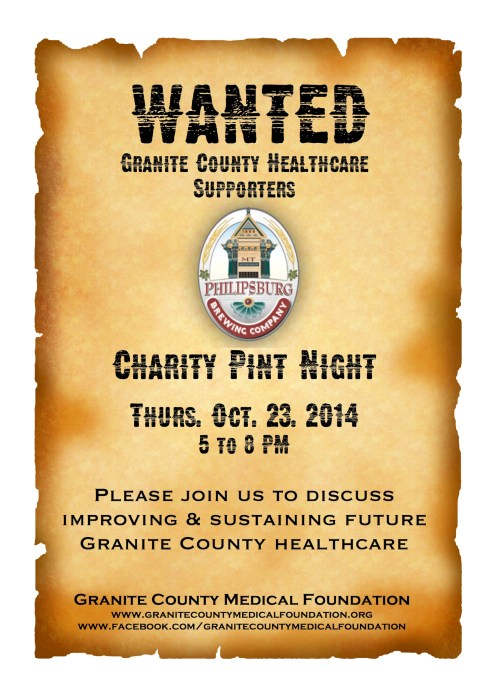 Charity Pint Night Poster image