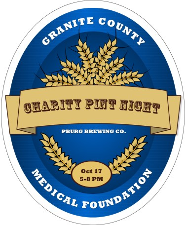 GCMF Charity Pint Oct 17