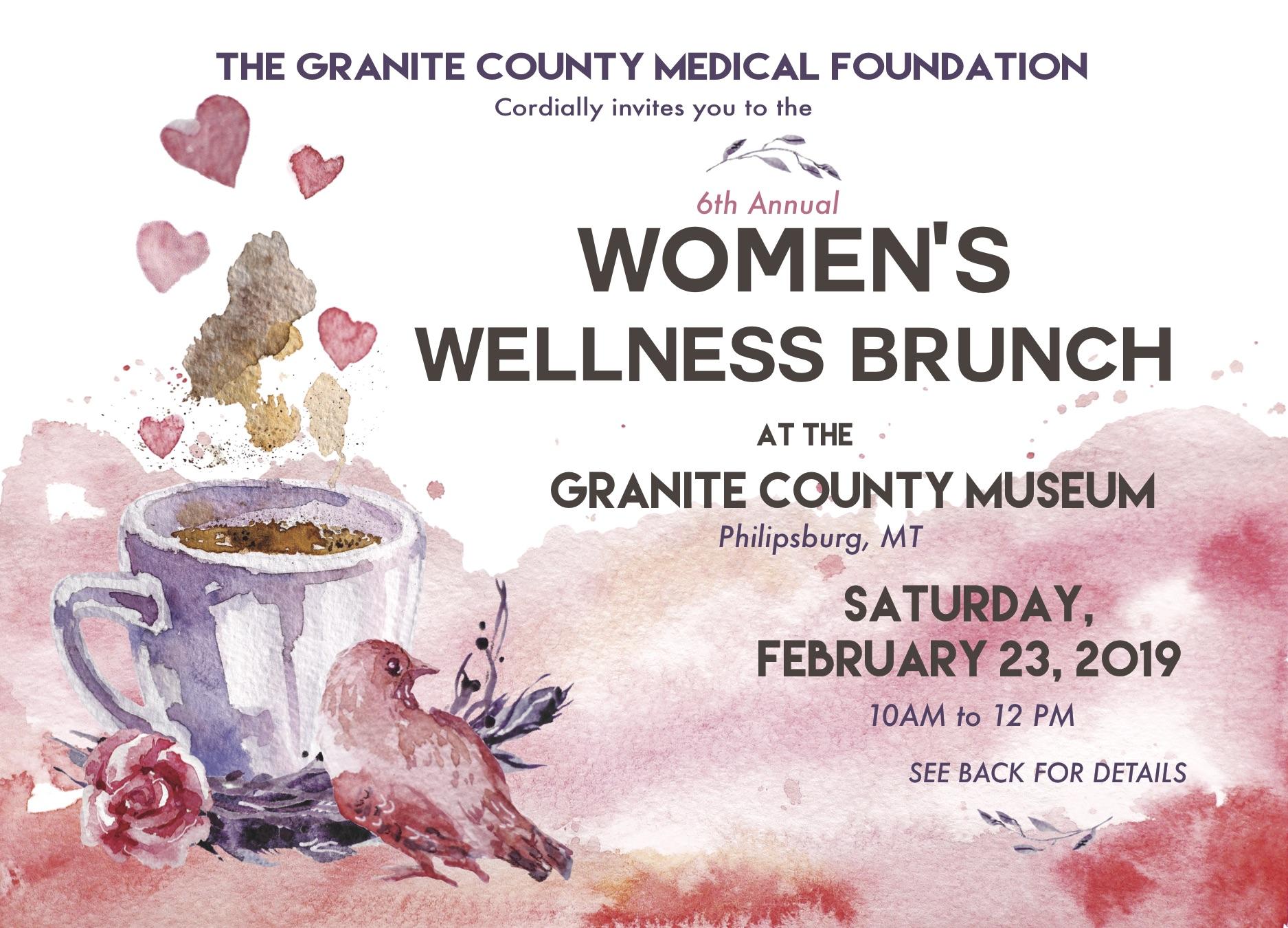 7122e9c6342 6th Annual Women s Wellness Brunch