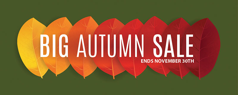 Granite's Big Autumn Sale!