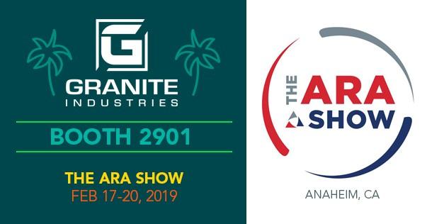 Granite Industries 2019 ARA Show Preview