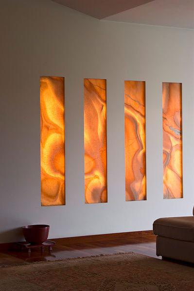 Onice Orange Nuvolato Granite Countertops Seattle