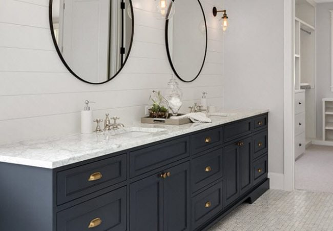 Custom Bathroom Vanity Tops In Granite