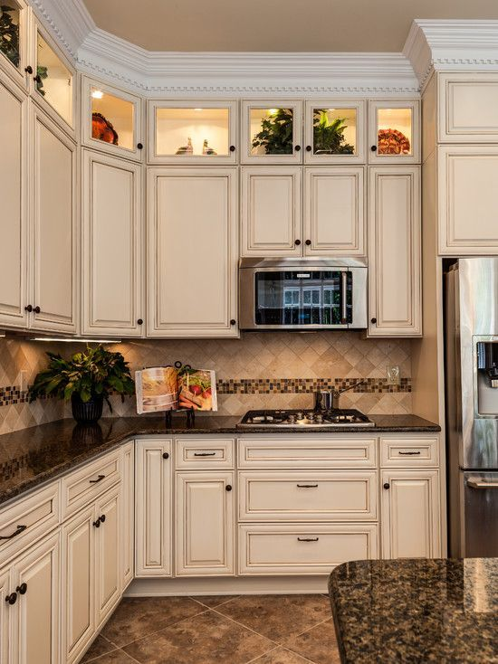 Dark Granite Countertops - Photos of Cabinet Combinations ... on Dark Granite Countertops With Dark Cabinets  id=25767