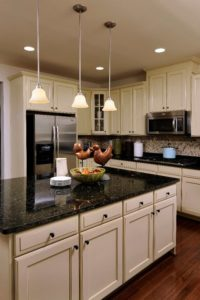 How to Match Your Granite Countertops and Cabinets ... on What Color Cabinets Go Best With Black Granite Countertops  id=96764