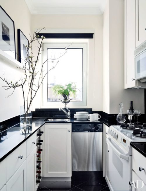 Dark Granite Countertops - Photos of Cabinet Combinations ... on Dark Granite Countertops With Dark Cabinets  id=56524