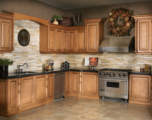 Dark Granite Countertops - Photos of Cabinet Combinations ... on Dark Granite Countertops With Dark Cabinets  id=67331