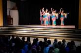 Photo of Beijing dancers at Spring Lane Elementary