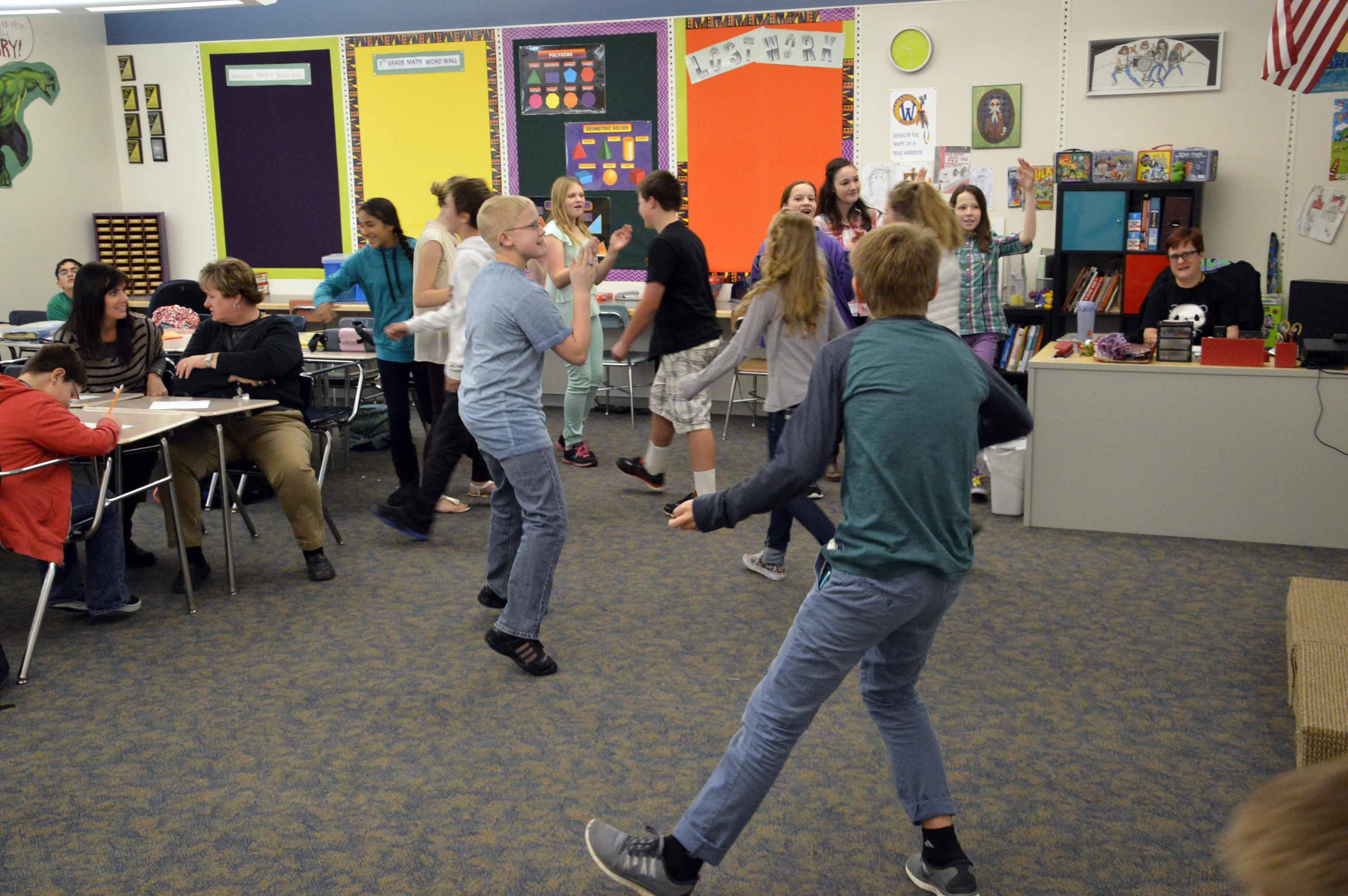 Wasatch Jr High Uses Student Led Workshops To Reach Out To Community Members