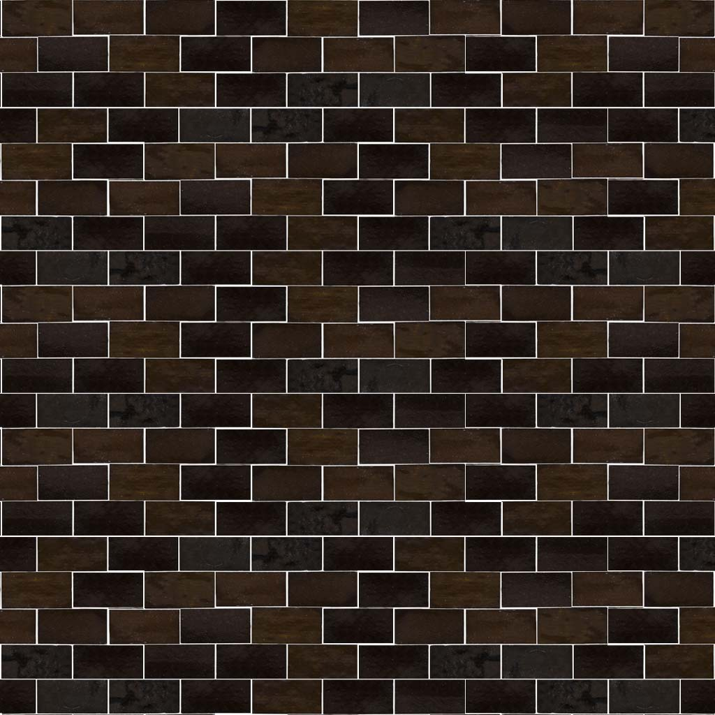 subway noir dark brown subway tile