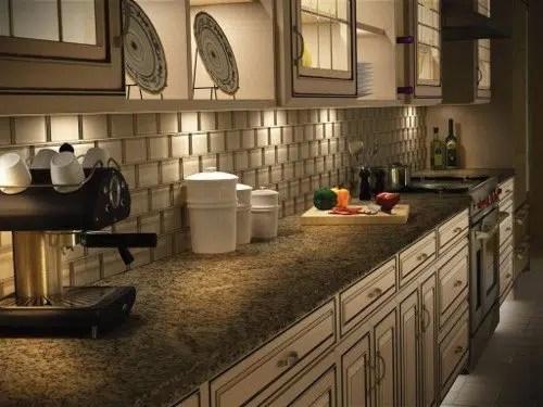install lights under kitchen cabinets