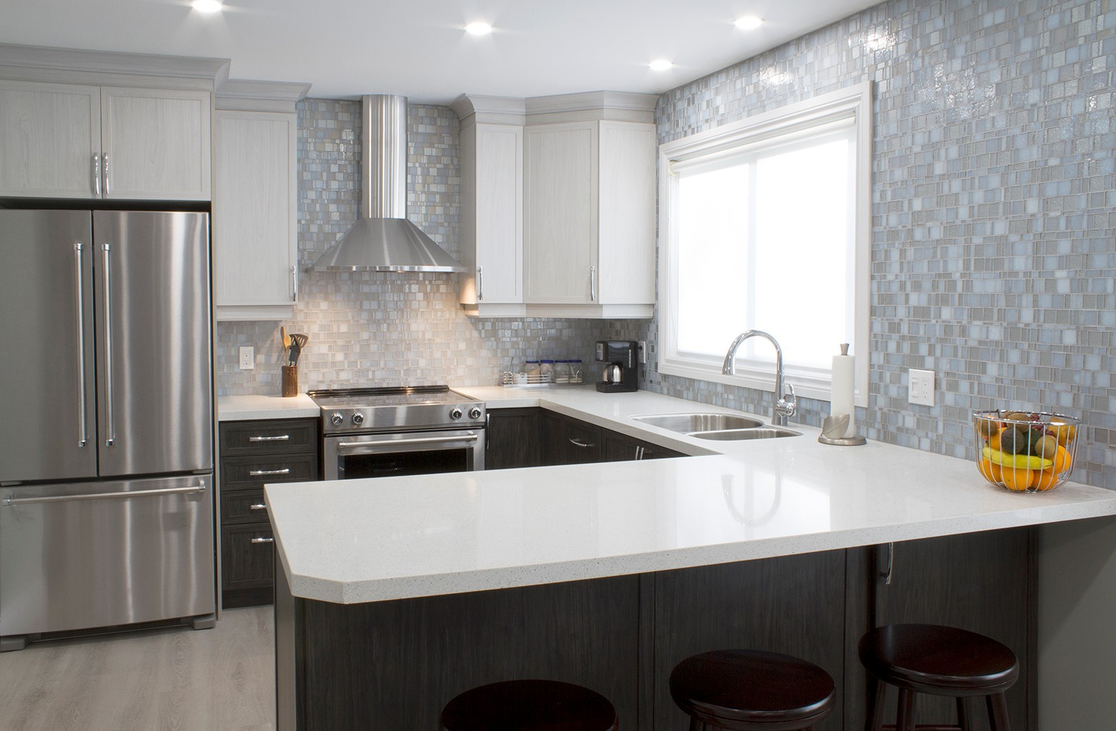 White And Grey Kitchens Gain Popularity For Timeless Elegance Granite Transformations Blog