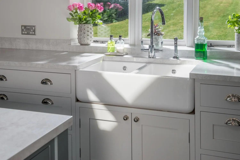 Choosing a Sink for Granite Countertops | Granite ... on Kitchen Farmhouse Granite Countertops  id=54005