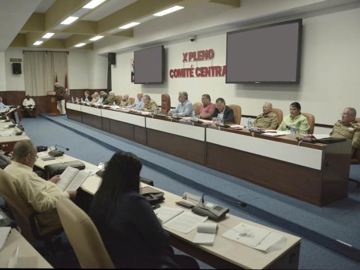 X Pleno del Comité Central del Partido Comunista de Cuba