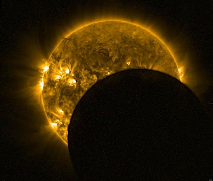 el próximo viernes 20 de marzo, antes de la entrada de la primavera, se observará el primer y único eclipse total de Sol de 2015