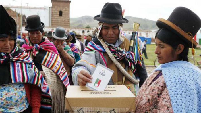 Los bolivianos fueron consultados por primera vez para modificar el Artículo 168 de la Constitución.