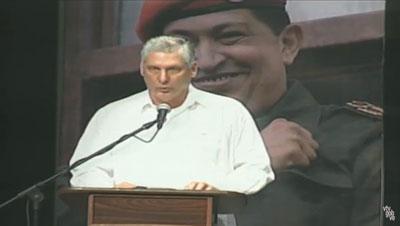 diaz-canel en venezuela
