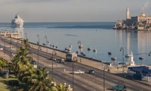 Recientemente, la Bahía de La Habana incrementó la acogida de cruceros.