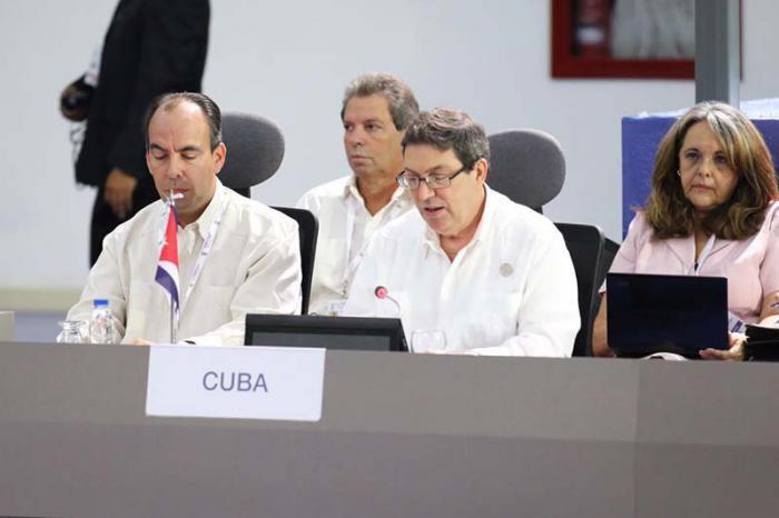 El Titular cubano expuso su preocupación de que no se haya alcanzado la paz, seguridad internacional y cooperación a la que se aspira.