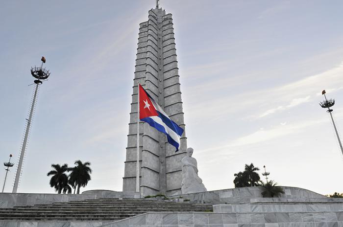 Monumento a José Martí en la Plaza de la Revolución.