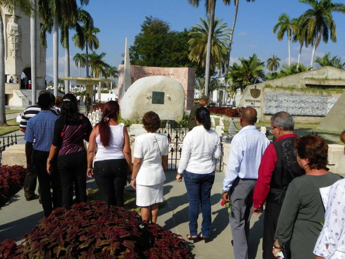 Las constantes visitas testimonian la admiración y respeto del mundo hacia Fidel. Foto: Eduardo Palomares