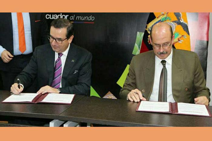 Cuba y Ecuador forman acuerdos en materia arancelaria