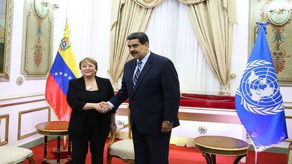Michelle Bachelet expresó su preocupación por las consecuencias de las sanciones de EE.UU. hacia el país suramericano.