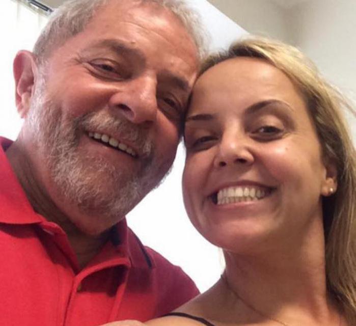Lula y su hija.
