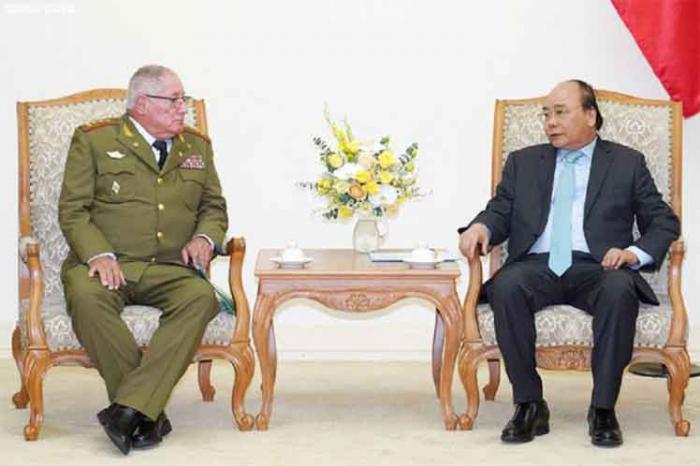 Primer ministro de Vietnam ratifica voluntad política de apoyar a Cuba