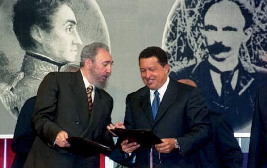 El Convenio Integral de Cooperación fue firmado en Caracas el 30 octubre de 2000 por el Comandante en Jefe Fidel Castro y el Presidente de Venezuela Hugo Rafael Chávez Frías.